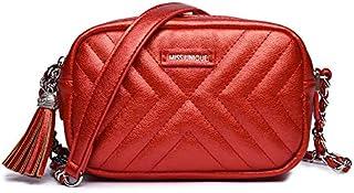 زينيف لندن حقيبة طويلة تمر بالجسم للنساء ، احمر