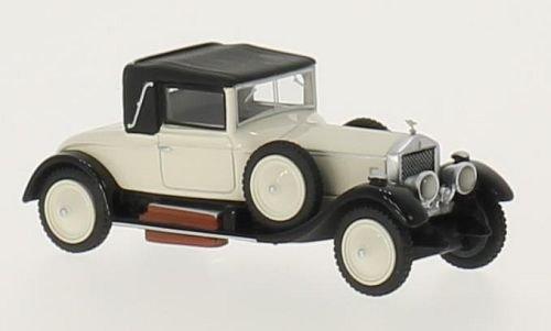 Unbekannt Rolls Royce Silver Ghost Doctors Coupe , Hellbeige/schwarz, RHD, 1920, Modellauto, Fertigmodell, BoS-Models 1:87