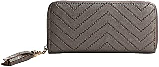 Generic Bokinslon Woman Wallet PU Leather Fashion Girls Long Section Hand Wallet Simple Luscious Ladies Brand Wallet Color...