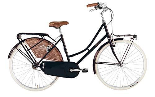 Alpina Bike Olanda 26', Bicicletta Donna, Nero, 1v