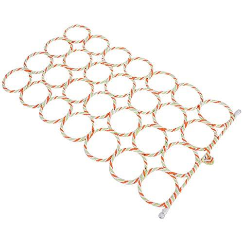 Cuerda para pájaros Plataforma de ejercicio de malla para escalar Resistente de gran tamaño para decoración de hábitat Agapornis