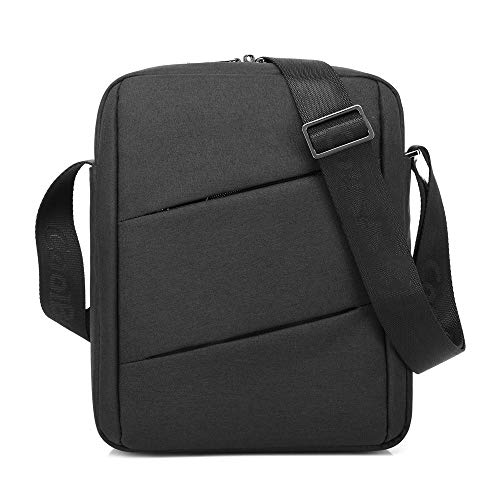 CWC Carrying Case Laptop Tablet Briefcase Oxford Shoulder Bag For 10.6 Inch Tablet for Men/women/college/youth Black