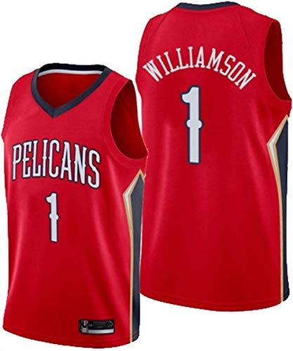 Dll NBA Nº 1 Camiseta de Baloncesto, Pelícanos Nº 1 Sion Williams, 1 Jersey del fútbol # (Color : C3, Size : XL)