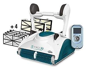 immagine di MAYTRONICS Dolphin X Force 30 Digital con RADIOCOMANDO - Robot Elettrico Pulitore per Piscina Fino a 15 Mt - Doppia Filtrazione - Novita'
