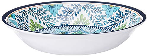 Certified International Talavera Large Serving Bowl, Multicolor.