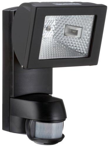 ESY-LUX AF150/200S Halogenstrahler 150W mit Bewegungsmelder schwarz