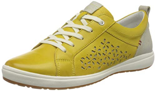 Josef Seibel Damen Caren 06 Sneaker, gelb-Kombi, 40 EU