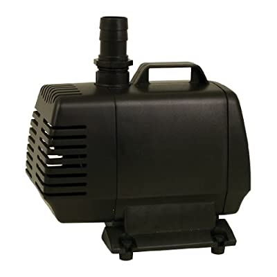 TetraPond 26588 Water Garden Pump, Powers Waterfalls/Filters/Fountain Heads, 500 to 1000 gallons