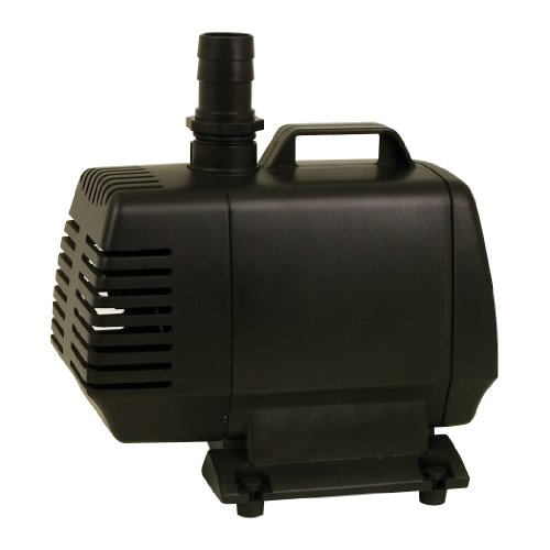 TetraPond Water Garden Pump, Powers Waterfalls/Filters/Fountain Heads