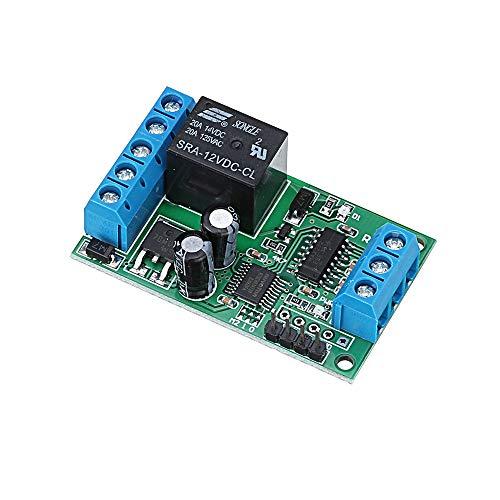 ILS - 2-in-1 12V RS232 TTL232 Relay serielle UART-Fernbedienung Schalter für Steuer Garage Auto-Motor