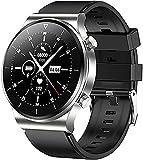 CNZZY TM01 Orologio intelligente da uomo con chiamata Bluetooth con pressione sanguigna e cardiofrequenzimetro Activity Tracker IP68 impermeabile per IOS Android Smart Watch (F)