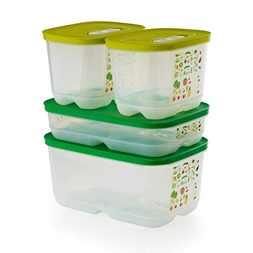 Tupperware Fridgesmart Container 4 Pcs Set Newest Design
