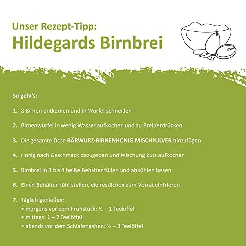 Bärwurz-Birnenhonig-Mischpulver - 6