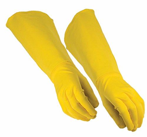 Forum Novelties unisex adult Hero Gauntlet Costume Accessory, Yellow, Standard US