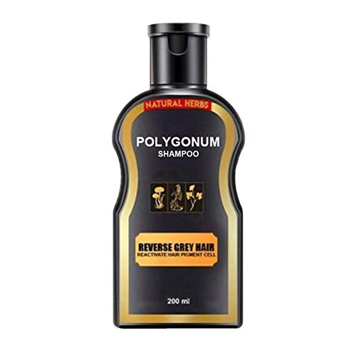 Black Hair Darkening Shampoo Bar Shampooing et revitalisant pour cheveux noirs pour hommes et femmes Nourish Oil Control Shampooing anti-pelliculaire pour la croissance des cheveux, Shampooing naturel