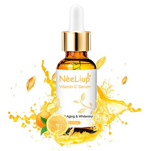 Vitamin C Serum for Face with Hyaluronic Acid, Vitamin E & Niacinamide (B3) Face Serum for Anti Wrinkle, Anti Aging, Hydrate & Dark Spot Vitamin C Oil Facial Serum