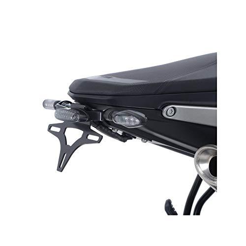 R&G Soporte de matrícula para KTM 790 Duke a partir de 2018 – LED tintado Smoke Tail Light Licence Plate
