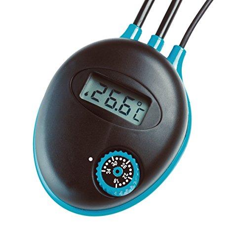 Hydor Srl elektronische thermostaat met indicator voor de temperatuurweergave T03200