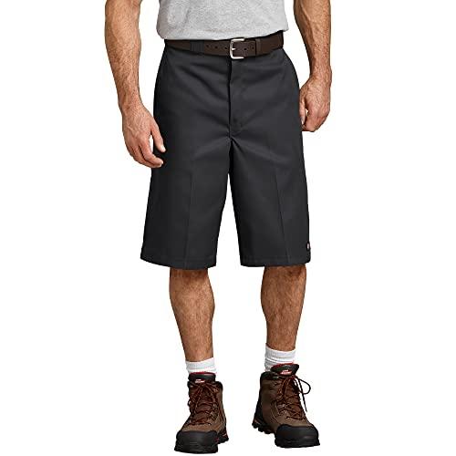 Dickies Men's Big-Tall 13 Inch Loose Fit Multi-Pocket Work Short, Black, 50