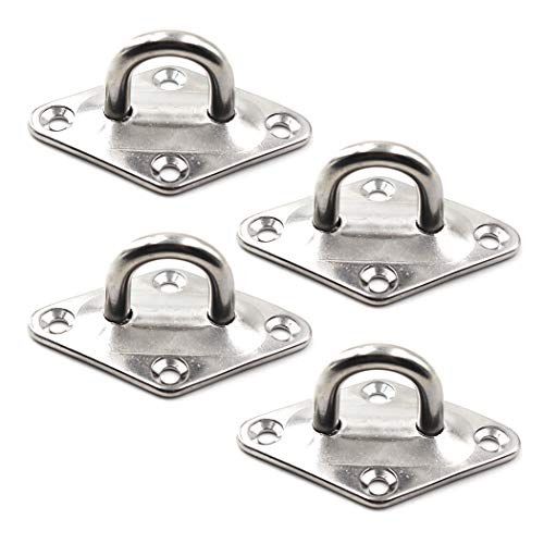 Decke Wandhalterung Haken Heavy Duty Anker Diamant Pad Eye Plate 5mm 3/16