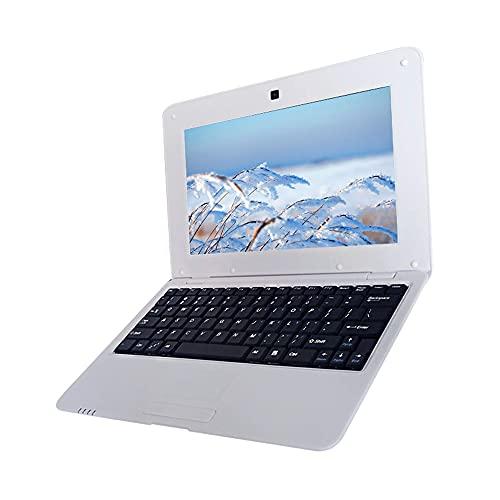 skrskr Netbook portátil de 10.1 Pulgadas Actions S500 1.5GHz Arm Cortex-A9 / Android 5.1 / 1G + 8G / 1024 * 600 Silver EU Plug
