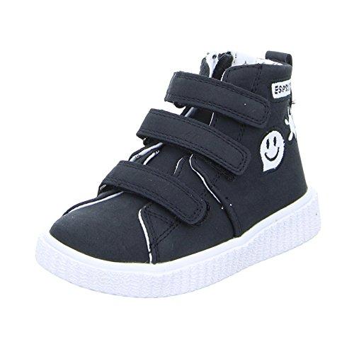 ESPRIT Kinder Sneaker Fancy Velcro Boots High Klettverschlüsse Reißverschluss Schwarz Größe 27 EU