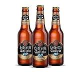 Estrella Galicia 0,0 Tostada Cerveza - Pack de 24 botellines x 250 ml - Total: 6 L