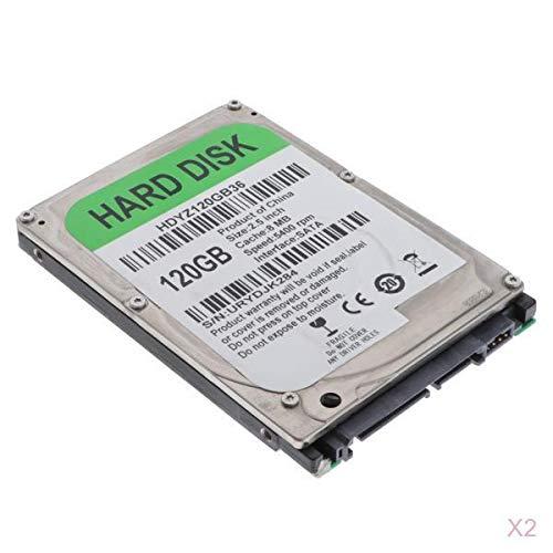 P Prettyia 2X 2,5 Zoll SATA HDD Laptop Interne Festplatte 160 GB 5400 U/Min 8M Cache