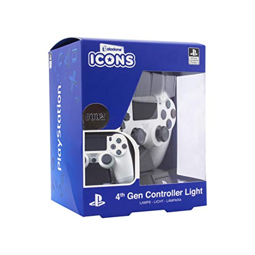 Paladone Playstation DS4 Controller Icon Light BDP-Ideale per camerette dei Bambini, Ufficio e casa-Pop Culture Gaming Merchandise, Multicolore