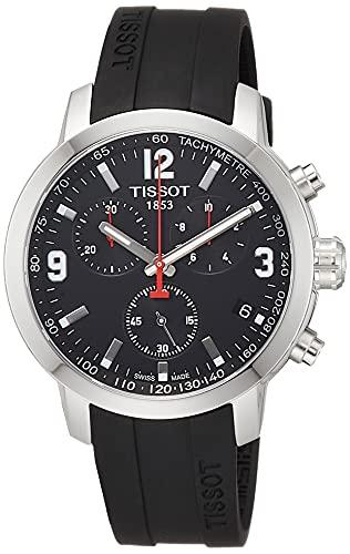 Tissot T055.417.17.057.00 Montre-Bracelet à Quartz chronographe pour Homme...