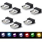 Car USB Lighting LED,Mini Wireless Car USB Lighting, Car Interior Lights Atmosphere, Usb Light...