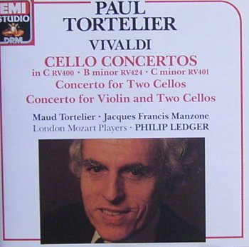 Cello Concertos in C RV400 - B minor RV424 - C minor RV401 - Concerto for Violin and Two Cellos