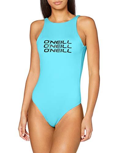 O'NEILL Bañador para Mujer con Logotipo, Mujer, Traje de baño de una Sola Pieza, N08200, Azul...