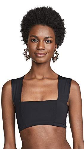 LSpace Women's Parker Bikini Top, Black, Medium