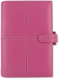 Filofax Classic Personal Organiser for Paper 95x171mm Personal Pink Ref 424015, Leather