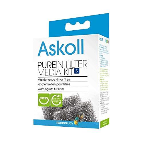 Askoll Ac350004 Ricambio Materiali Filtranti per Acquari Pure, S