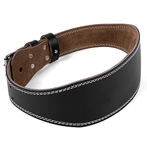 Cinturón Lumbar para Levantamiento de Pesas,DeadliftsCinturón Halterofilia, Cinturon Musculacion para Power Lifting Gimnasio Entrenamiento
