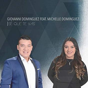 Sé Que Te Vas (feat. Michelle Domínguez)