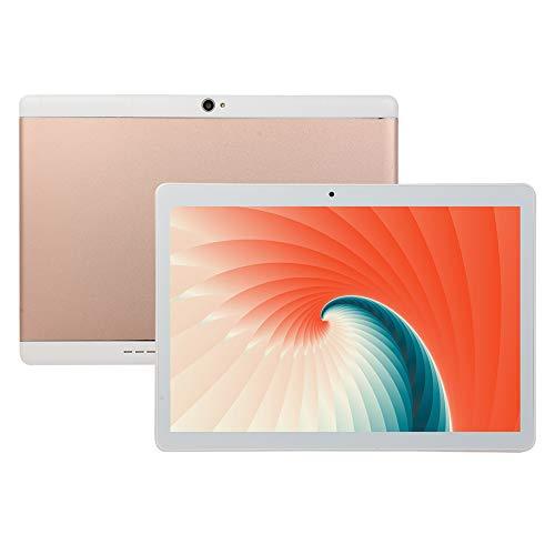 LNX 10 Zoll Tablet, Android System, WLAN, GPS, Bluetooth, Dual SIM, Doppelkameras, Erweiterbarer Speicher, HD Displayanzeige