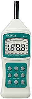 Extech 407750 Sound Level Meter with Background Sound Absorber