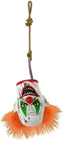 [Alternative dealer] AMSCAN Spasm price Creepy Carnival Hanging Head Clown Decorations Halloween