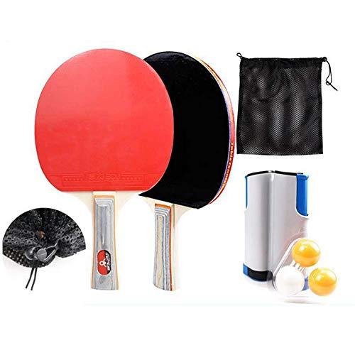 Portable Indoor Outdoor Travel Tafeltennis Ping Pong Ball Set Uitschuifbaar met intrekbaar net, ballen en koffer voor kinderen Volwassenen Game