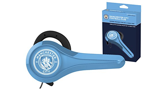 Oreillette gaming pour PS4 et Xbox One Manchester City Football Club