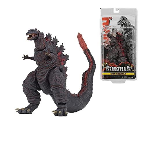 Anime Figure Godzilla Movie King Of The Monster 2016 Gojira Action Figures Pvc 18Cm, Collezione Modello Statua Godzilla Vs Kong Toy Kid Regalo di Natale
