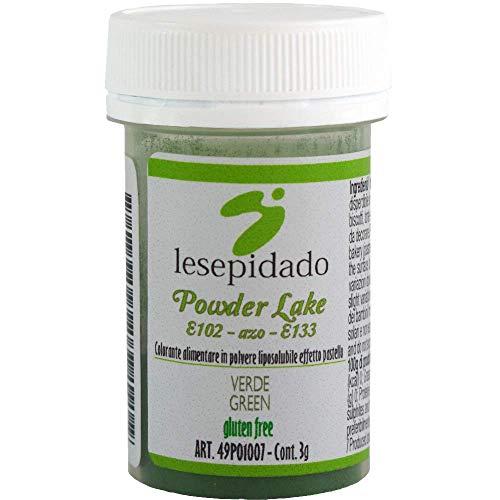 Colorante alimentare in polvere liposolubile 3g (Verde)