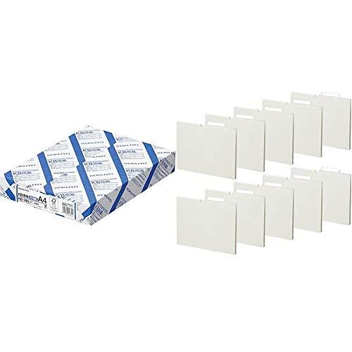 コクヨ コピー用紙 A4 500枚 + 個別フォルダー ...