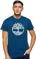 Timberland Men's TFO SS Camo Tree Logo T-Shirt