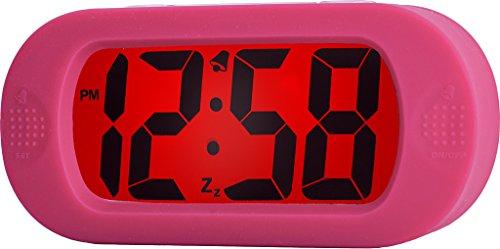 Acctim digitale wekker, roze, 5 x 14,2 x 6,8 cm
