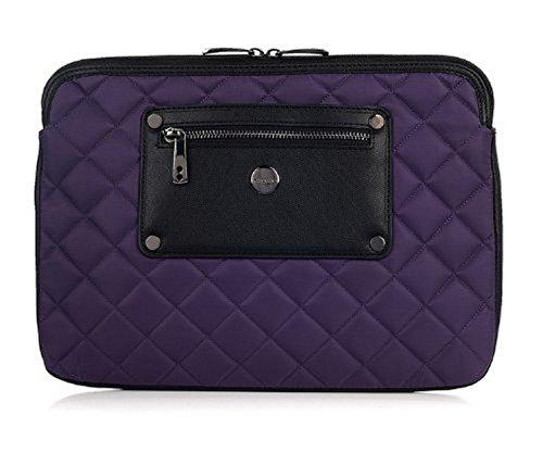 Knomo Luxurious Universal Laptop, Tablet, Notebooks Sleeve, Wallet, Envelope, Second Skin Cover Bag (11', Lavender)