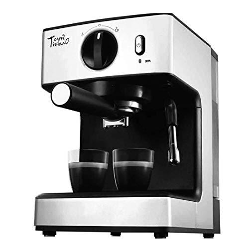 XYUN Volautomatische espressomachine met melk, badstof, inductie, traditionele pomp, espressomachine met afneembare lekplaat